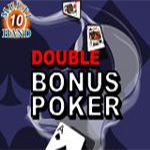 Double Bonus Poker (10 Hands)