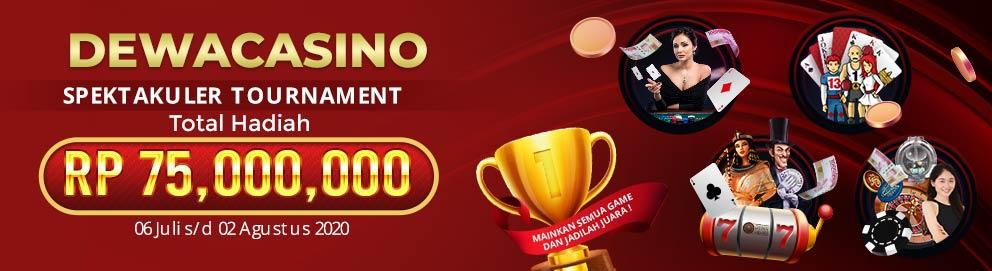 Dewacasino Tournament Spektakuler